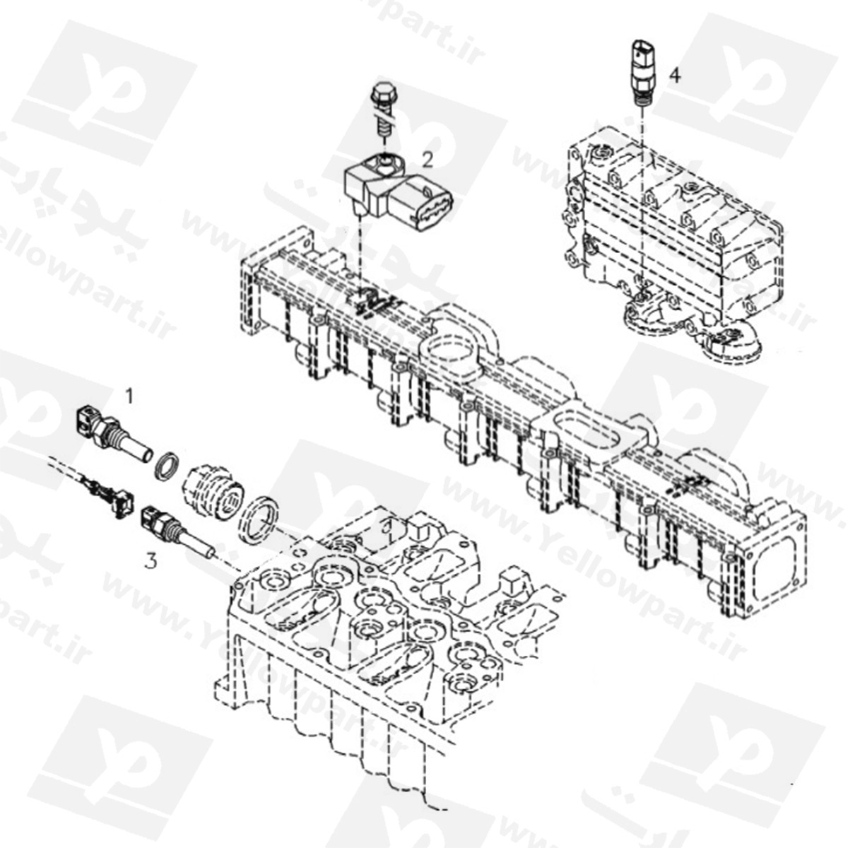 مجموعه سنسورهای HG180D1